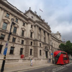 LONDON, UK - CIRCA JUNE 2017: HMRC Her Majesty Revenue and Customs building